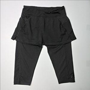 Adidas Climalite Skirted Capri legging